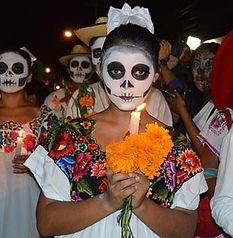 Isla Mujeres Dia de los Muertos