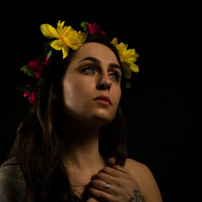 FLOWER GIRL.
