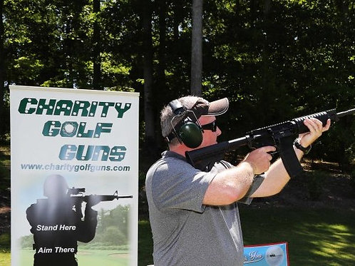 Charity Golf Guns Sponsorship