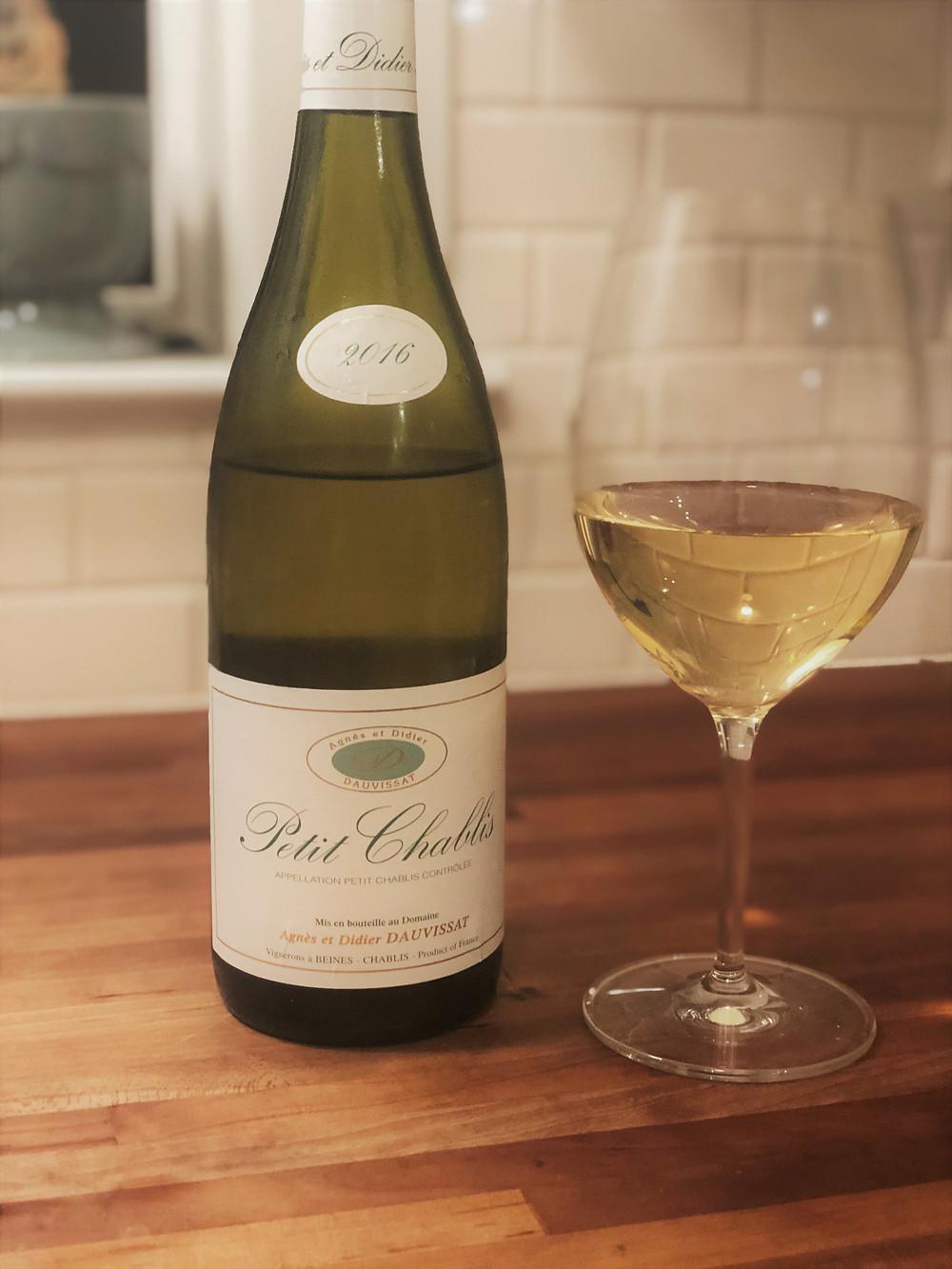 wine, petit chablis, French wine