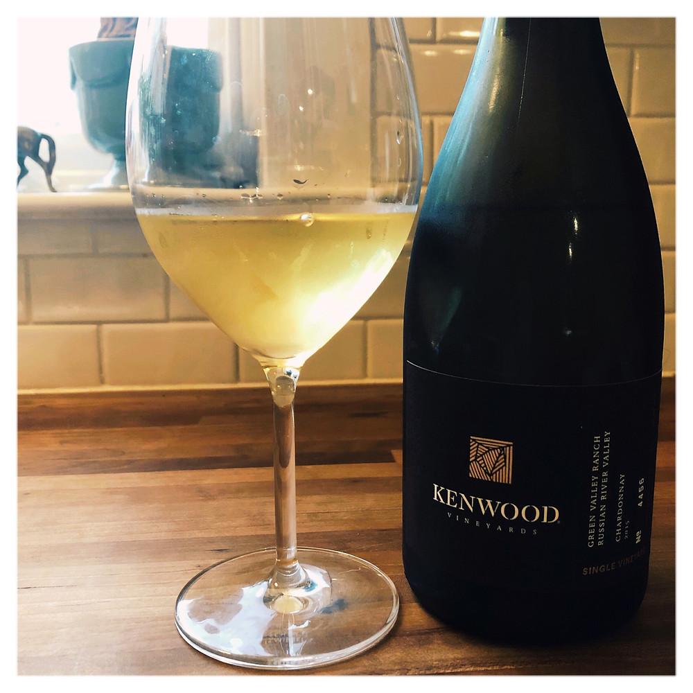 wine, chardonnay, Kenwood Vineyards