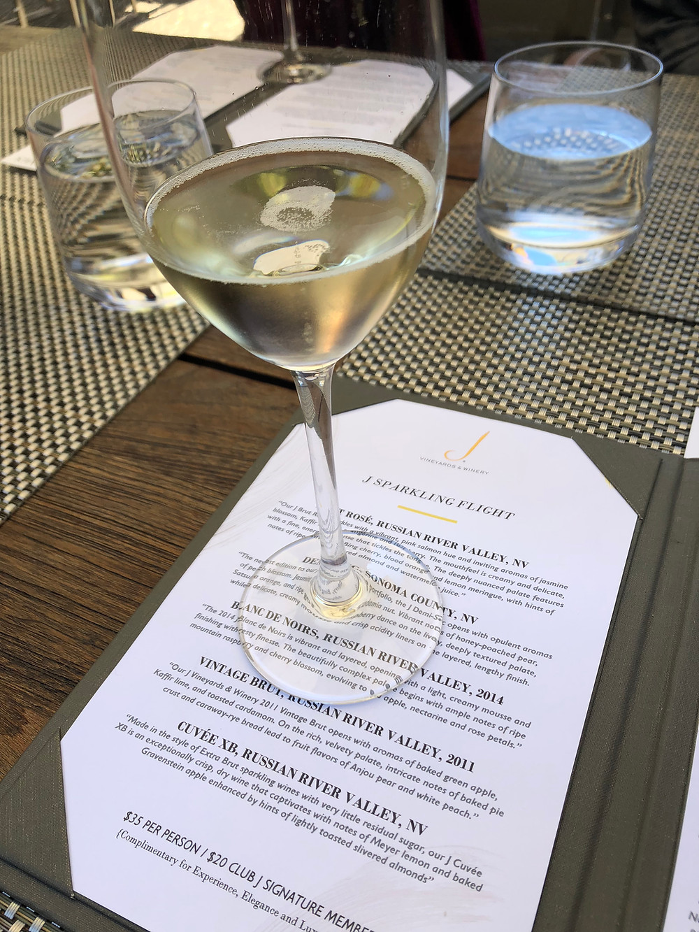 sparkling wine, wine, J vineyards, Sonoma County