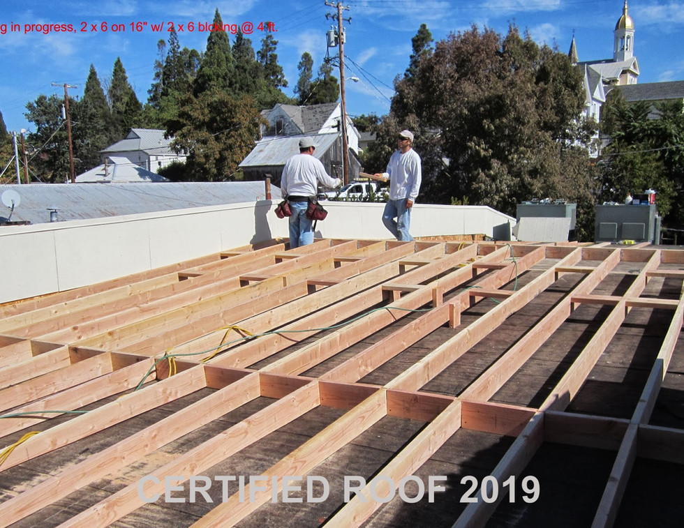 Adding Slope To Flat Roof