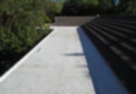 Flat Roof Repair Complete