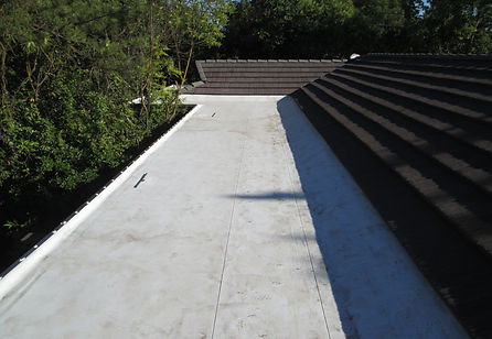 Flat Roof Repair Complete