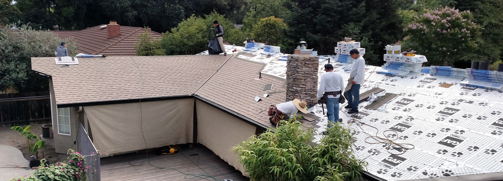 New Roof In Stockton