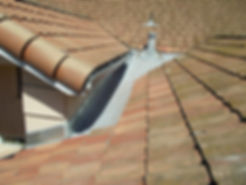 Roof Cricket - Tile Roof