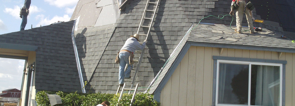 New Shingle Roof On Dome House!