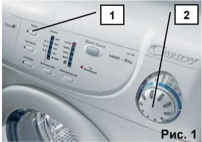 Как войти в сервисный тест стиральной машины Candy, тестовый режим стиральной машины Candy