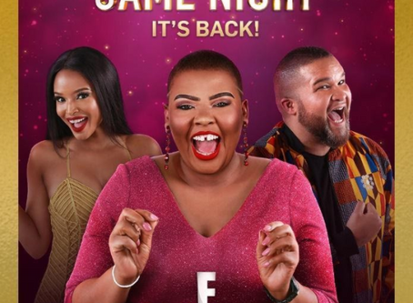 E! AFRICA ANNOUNCES BRAND NEW EPISODES OF THE SAFTA-NOMINATED CELEBRITY GAME NIGHT