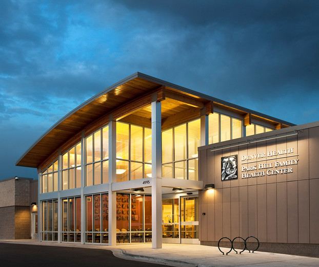 Denver Health Park Hill Clinic_ext persp