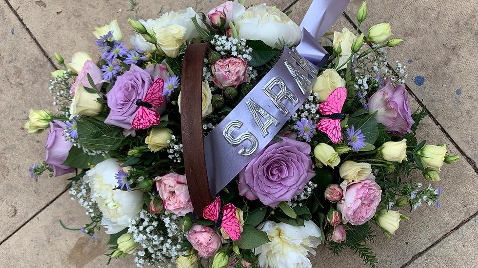 Purple/White - Basket