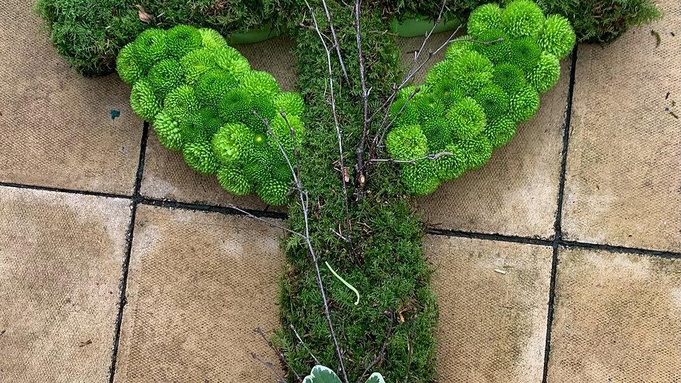 Earth Green - Cross