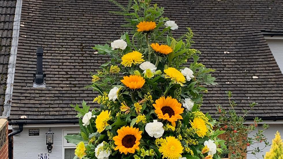 Sunflower Yellow - Pedestal