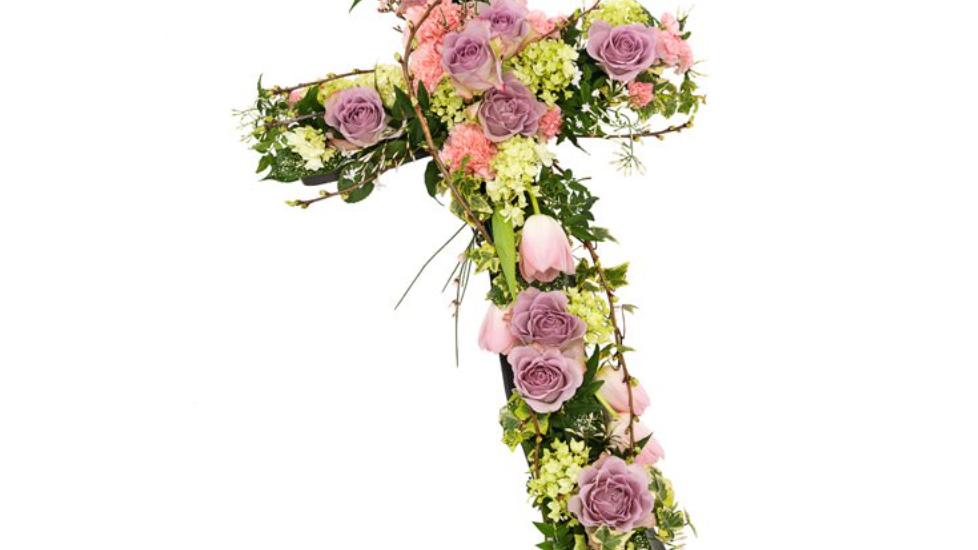 Dusty Rose - Cross