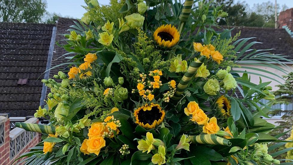 Sunflower/Green - Pedestal