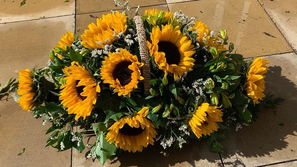 Sunflower - Basket