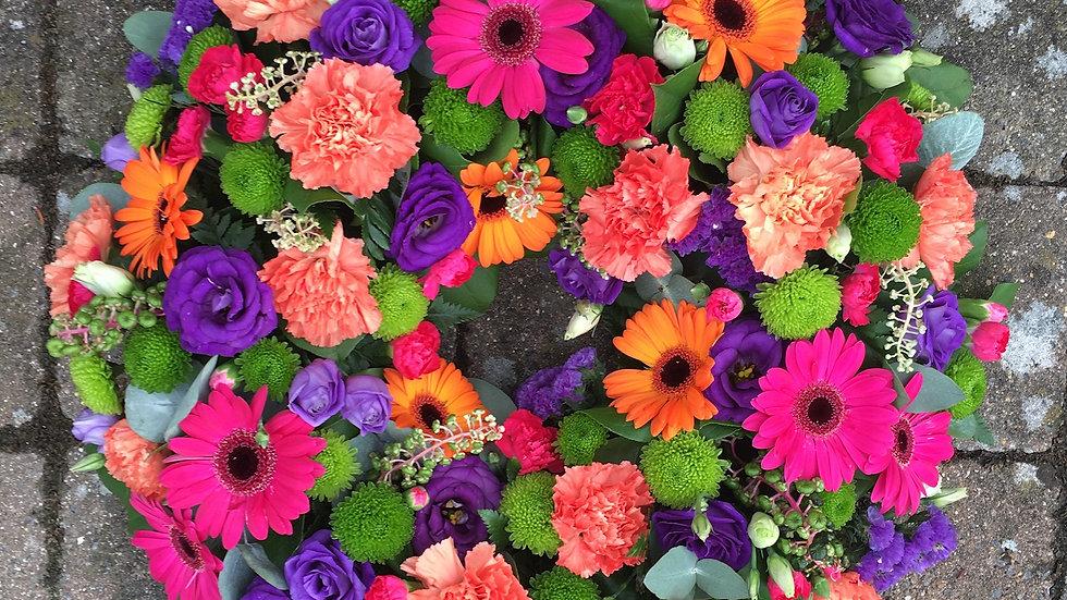 Fuchsia Wreath