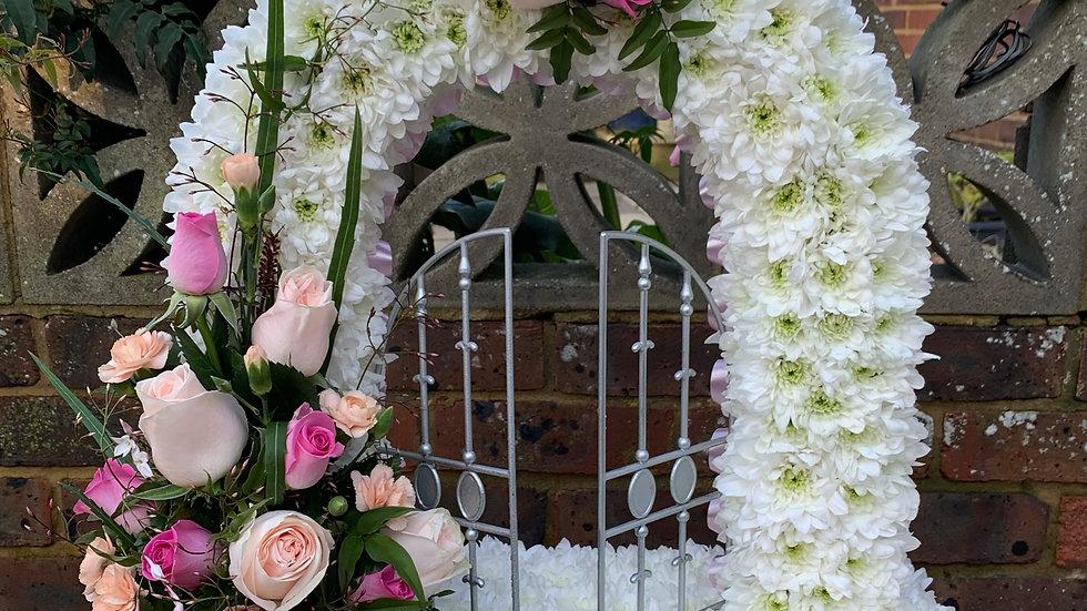 White/Pink - Gates of Heaven