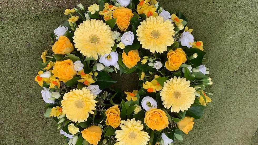 Summer Yellow Wreath