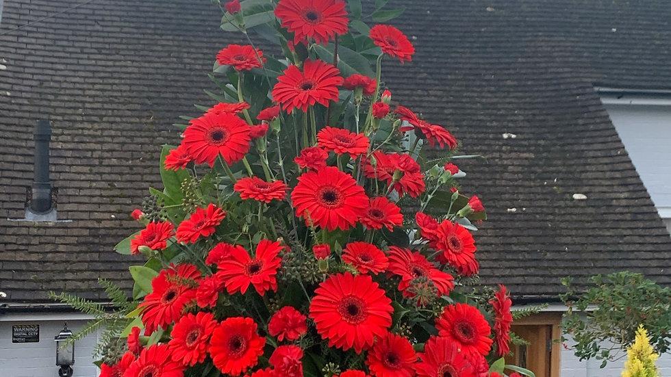 Red - Pedestal