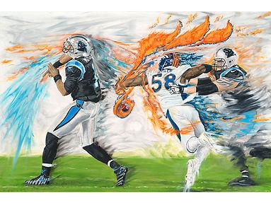 Miller Time Von Miller Cam Newton Superbowl 50 Broncos Panthers