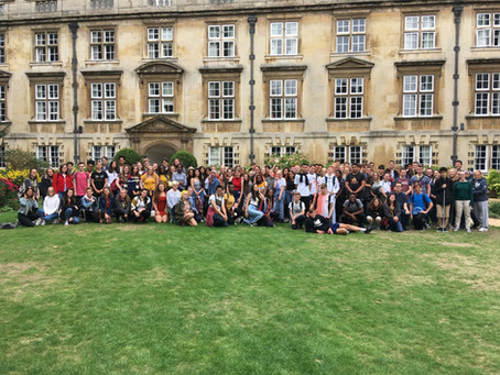 BVS Students Attend Cambridge Summer School