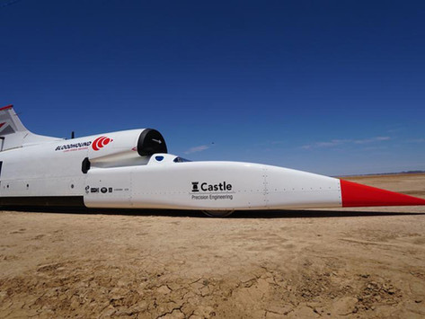 Gold Crest Award for Bloodhound Car Research