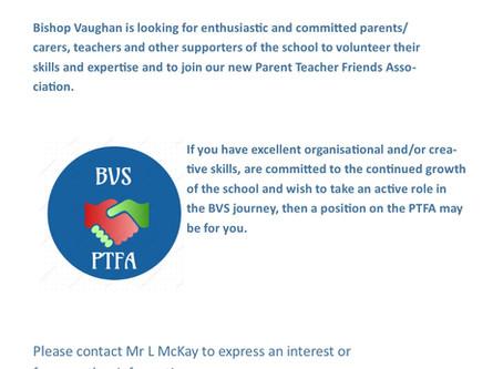 Bishop Vaughan Launches Parent Teacher Friend Association