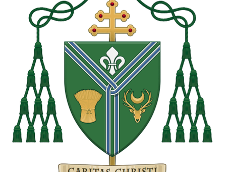 A letter from Archbishop George Stack, Monday 27th September 2021