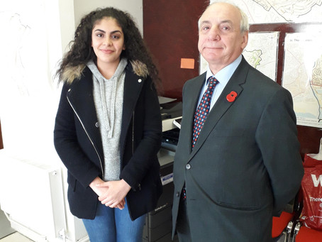 BVS Students Participate in Politics Work Experience