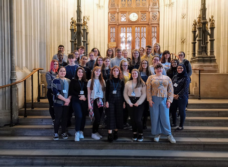 Sixth Form Visit to the Houses of Parliament