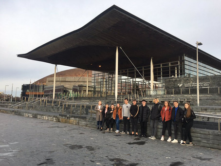 AS Politics Class Visits the Welsh Assembly