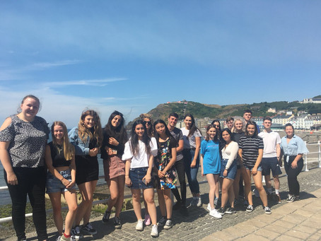 A Level History Students Visit Aberystwyth University