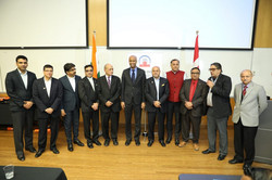 Anil Shah with Ahmed Hussen MP and CIF Team