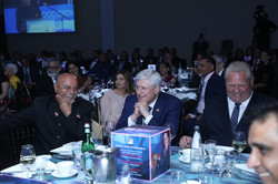 Anil Shah with Stephen Harper and Doug Ford