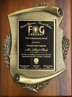 FOG Entrepreneur Award