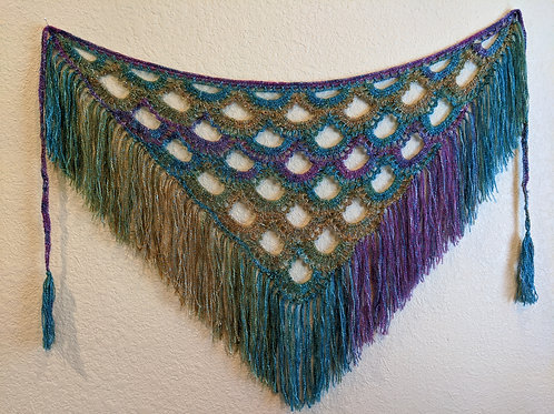 Morning Dew Shawl