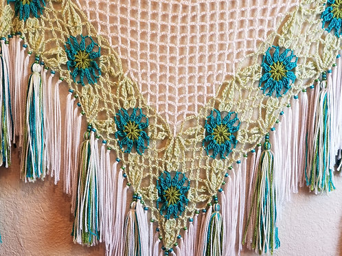 Flower Trellis Shawl
