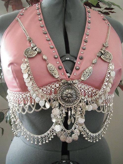 Pink Pearl Bra/Belt