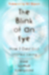 Cover image of the book, The Blink of an Eye - How I Died and Started Living, by Rikke Schmidt Kjærgaard with a foreword by Bill Bryson. The book chronicles Rikke's amazing health journey and her motivation for creating the the digital health app, Graphicure.