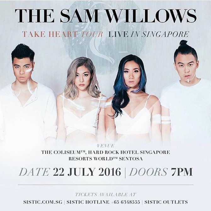 STAY : The Sam Willows Take Heart Tour