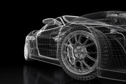 11911549-modello-di-auto-sportiva-su-sfondo-nero-3d-immagine-renderizzata