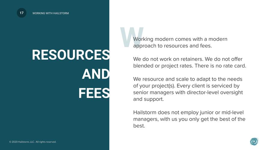 Working With Hailstorm - 2020 (Agency w_