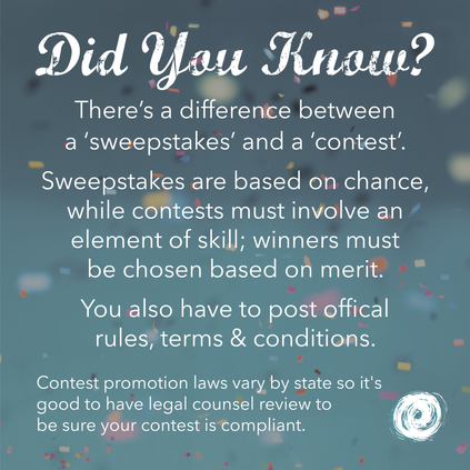 Is It A Sweepstakes Or Contest?