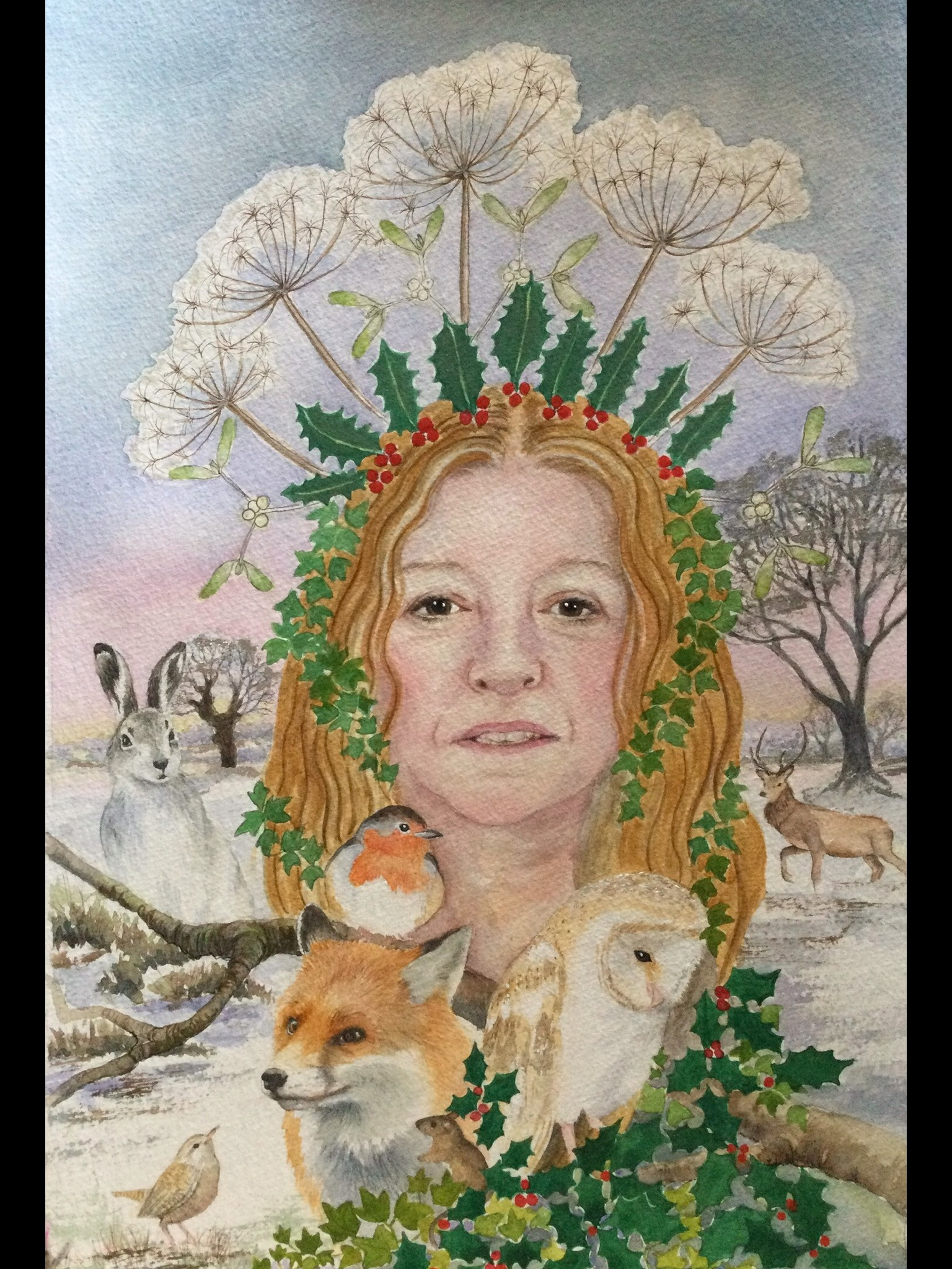Mother Holle - The Wise Queen of Winter