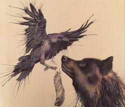Wolf crow 2
