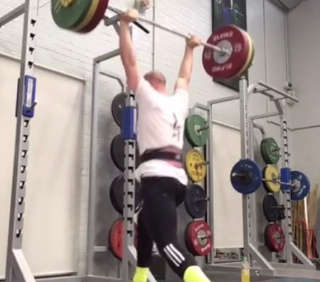 Benedict's Weightlifting Erb's Palsy skills