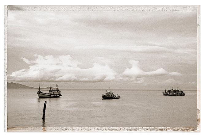 Thailande - bateaux
