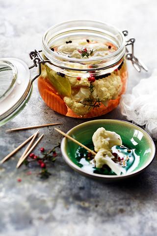 pickles de chou fleur au vinaigre